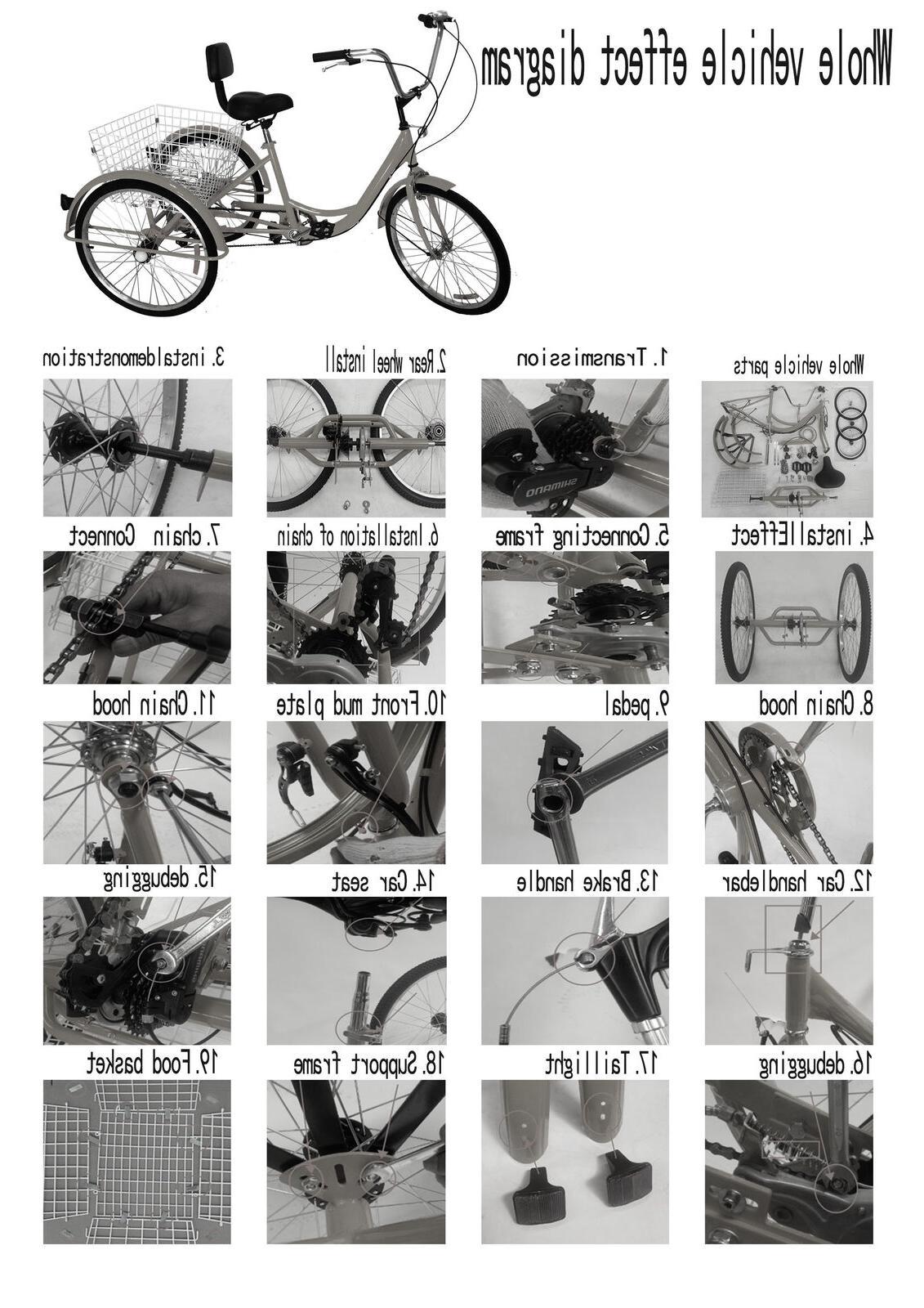 3-Wheel Bike Bicycle /