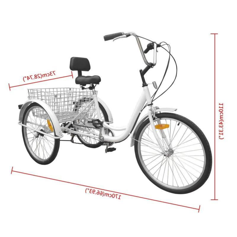 """Adult Adult24"""" Tricycle Bicycle Bike Cruise"""
