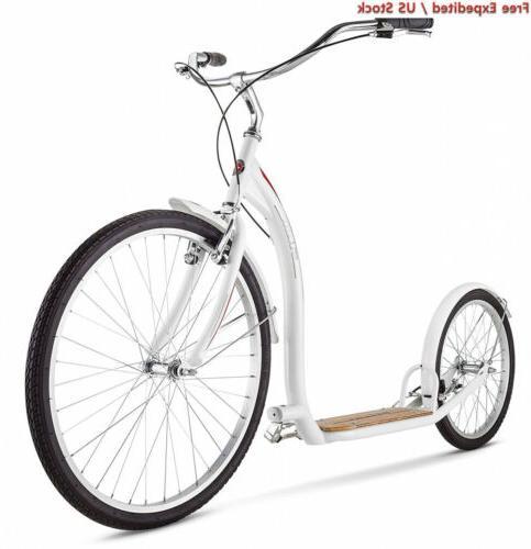 Schwinn Adult Shuffle Scooter with 26 Wheels