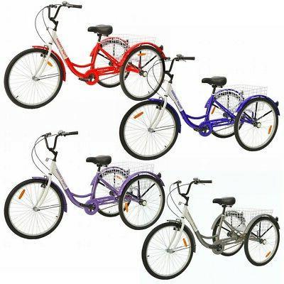 adult tricycle 3 wheeled trike bicycle