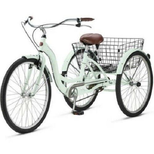 Adult Meridian 3 Wheel Trike Comfort Basket