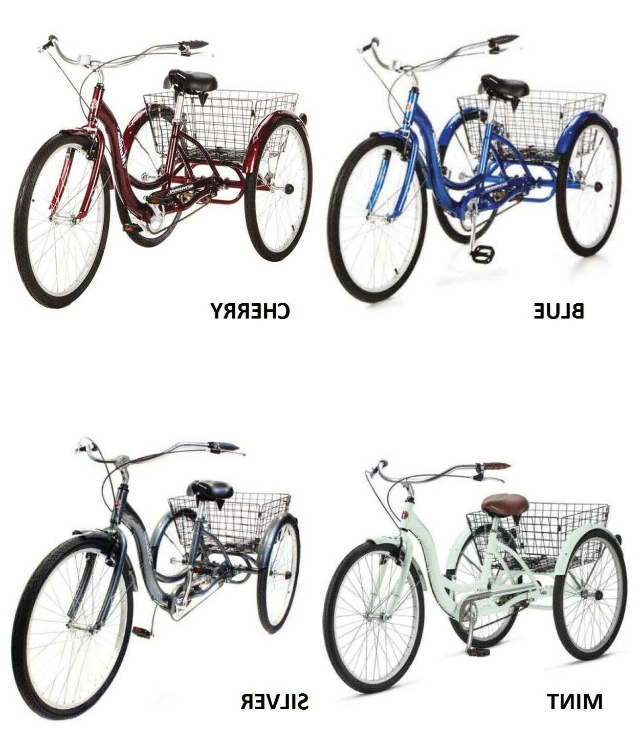 adult tricycle bike meridian 3 wheel trike
