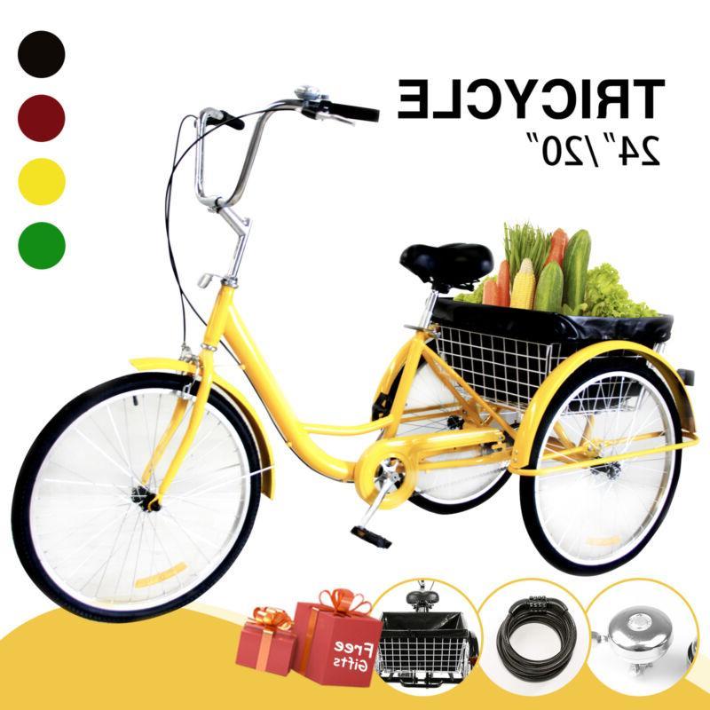 adult tricycle trike 3 wheel bike cruiser