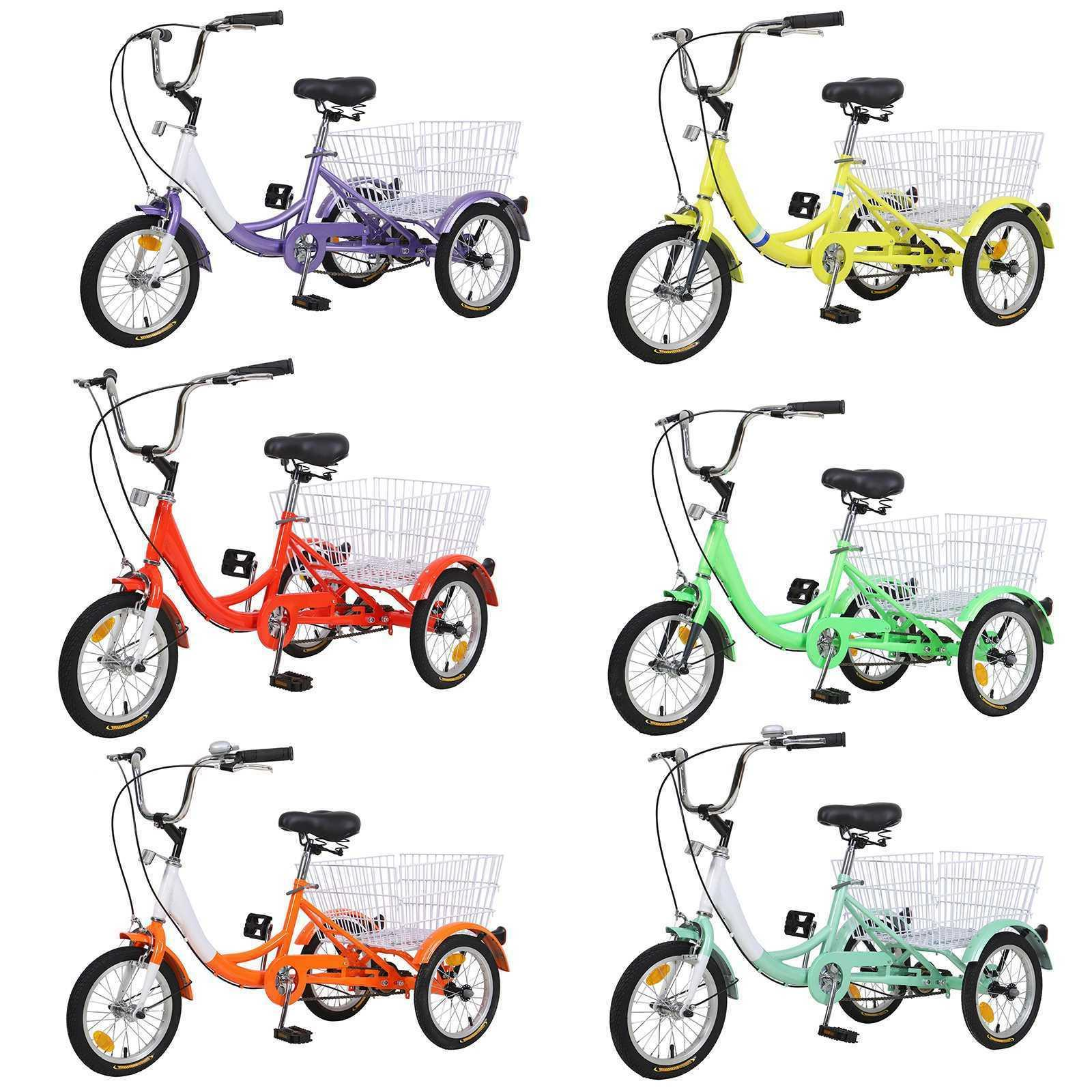 14''16''20''24''Adult 3-Wheel Trike Elder/Teen