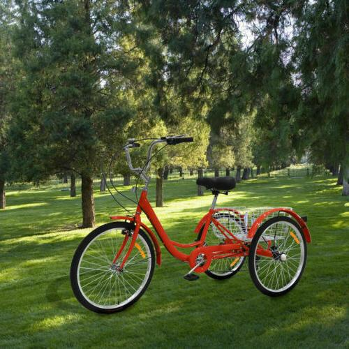 "Adult Bike 7 Cargo Basket 20""24""26"""