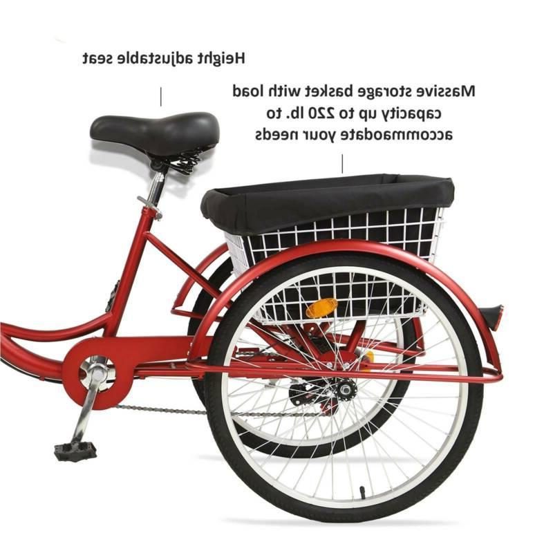 Adult Tricycles Three Wheel Trike Speed