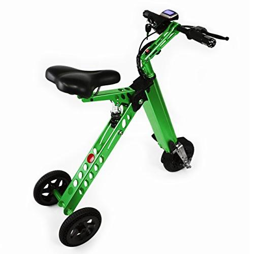 Electric Folding Tricycle, Scooter, Bicycle with