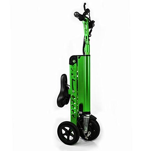 CHO Electric Folding Foldable Tricycle, Scooter, Bicycle with