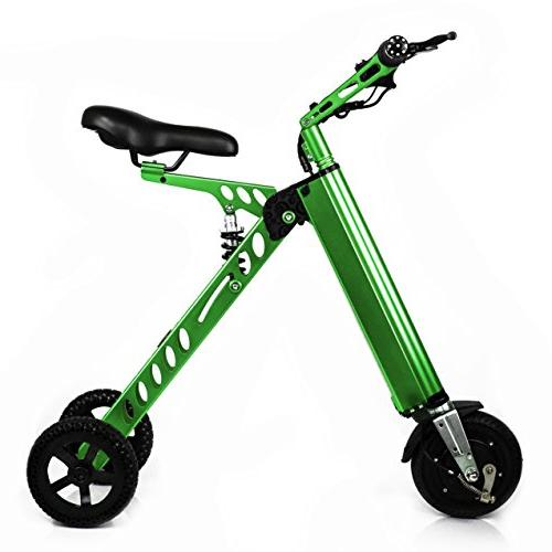 CHO Light Weight Electric Folding Tricycle, Electric Scooter, E-Scooter Bicycle