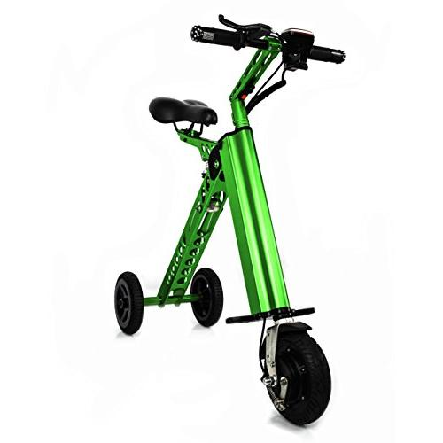 aluminum light electric folding bike