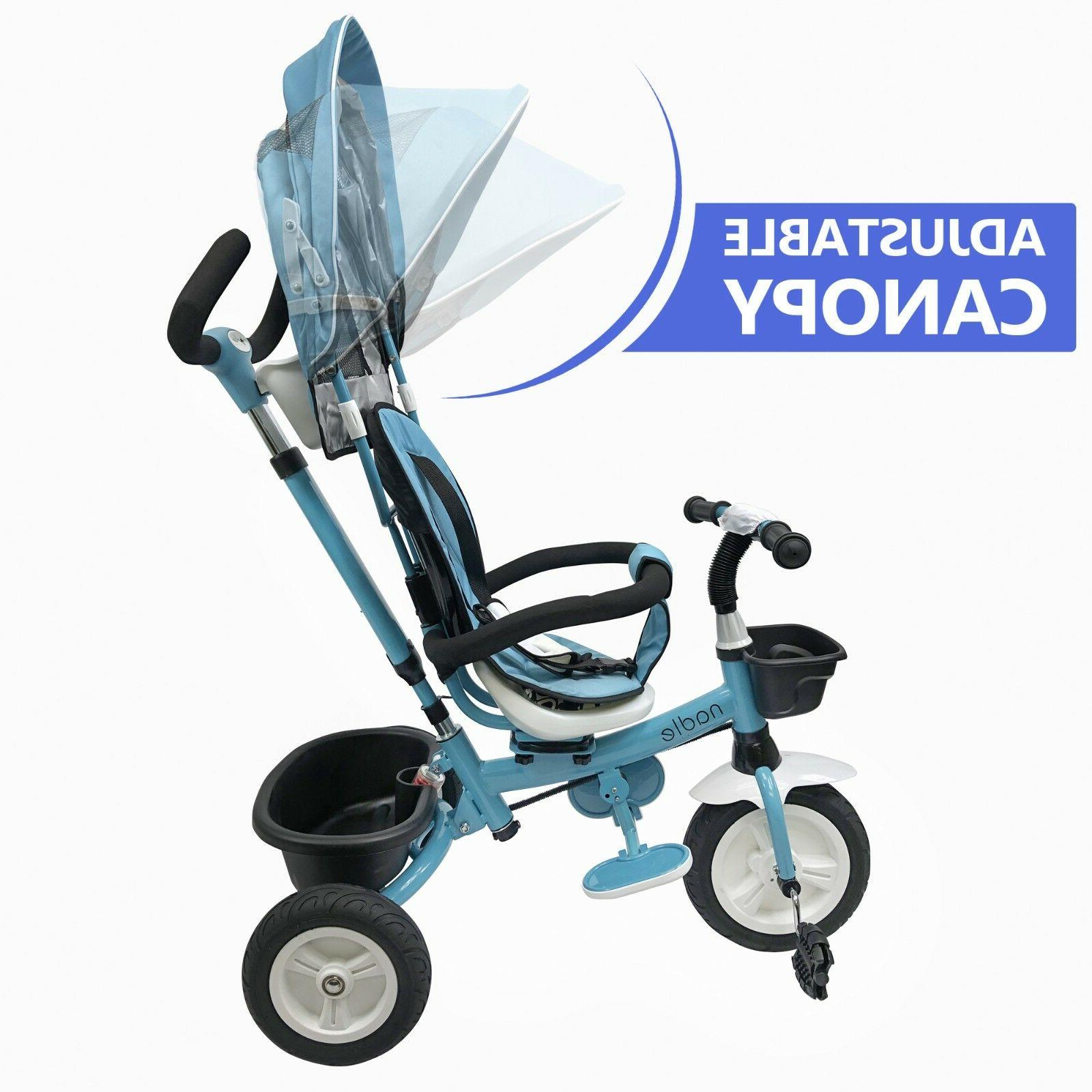 Baby Kids Tricycle Stroller for 2 5 Old Boy