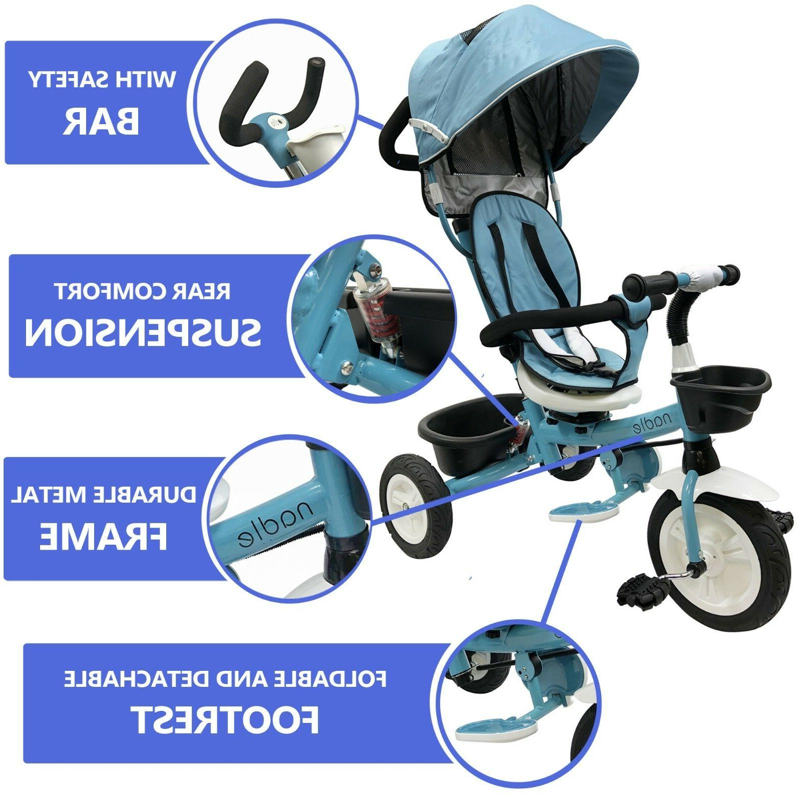 Baby Kids Tricycle for 5 Year Old Boy Pink
