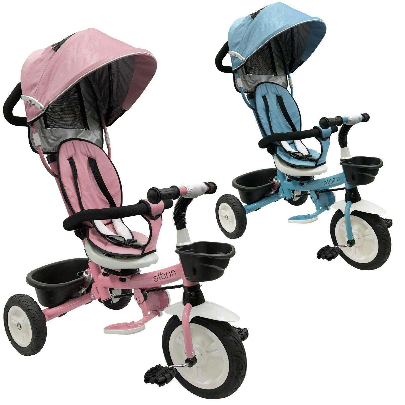 baby kids tricycle stroller for 2 3