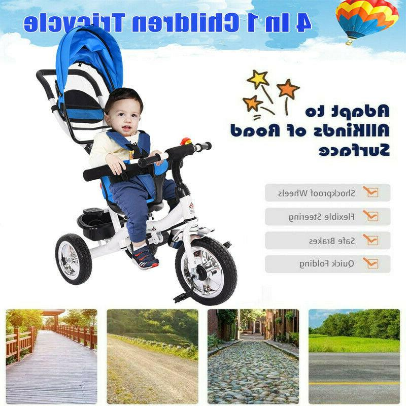 Baby Stroller Tricycle 2 Years Kid Bike Toddler Bicycle Ride On