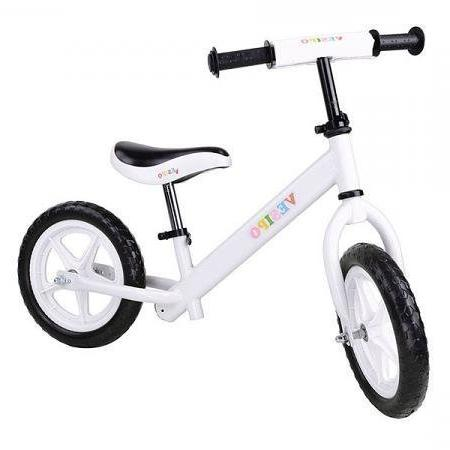 "UNITECH 12"" Kids Bike Glide Running Bicycle White"