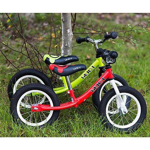 Tauki Kid Bike 12 Inch, Green, 95% assembled