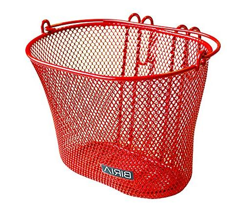 Biria Basket RED, Removable, mesh Basket, RED