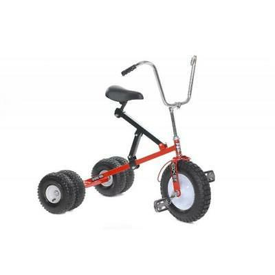 big kid dually tricycle red