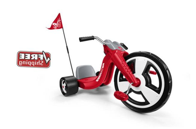 "Big Wheels For Kids Tricycle Boys Red 16"" Front Wheel Black"
