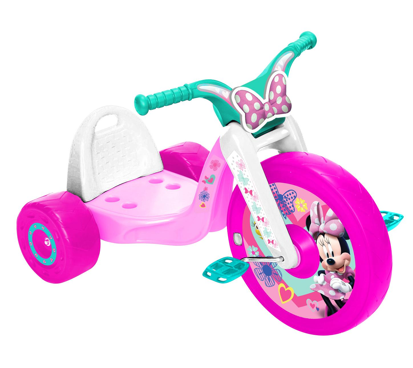 Big Wheels For Tricycle Girls Front Wheel Minnie Mouse LED
