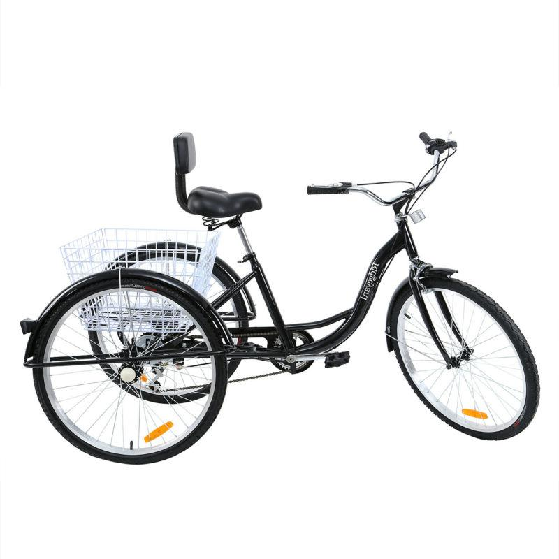 26'' Inch Unisex Basket Trike Cruise Steel
