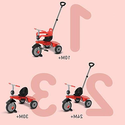 smarTrike Baby Red