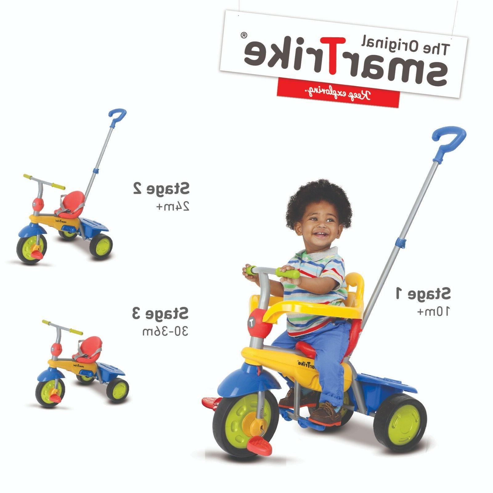 smarTrike Breeze 3 1 Tricycle On Smart for kid toddler Multi color