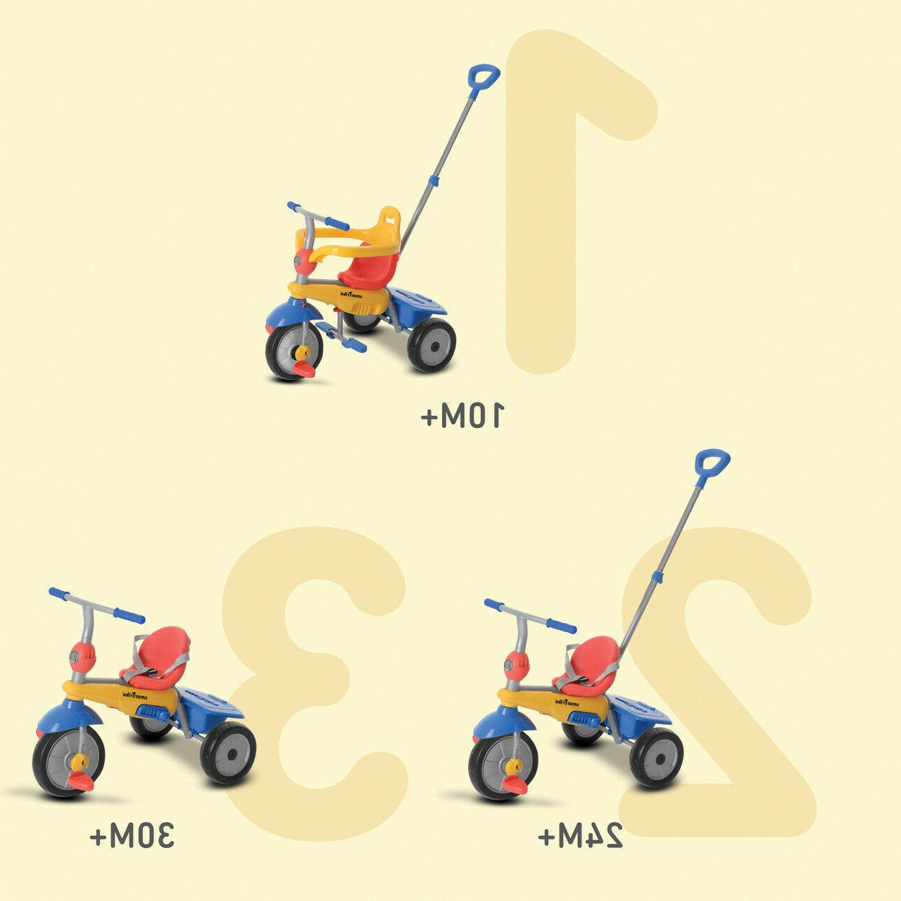 1 Tricycle Smart for kid toddler Multi color