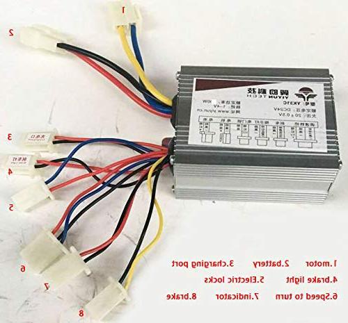 brushed controller control block 24