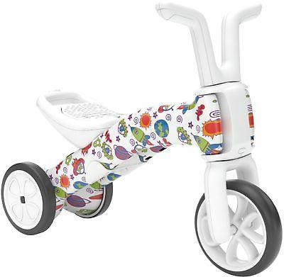 bunzi fad edition balance bike and tricycle