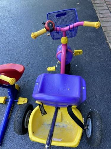 Children Kettler Bike in Grows Seats