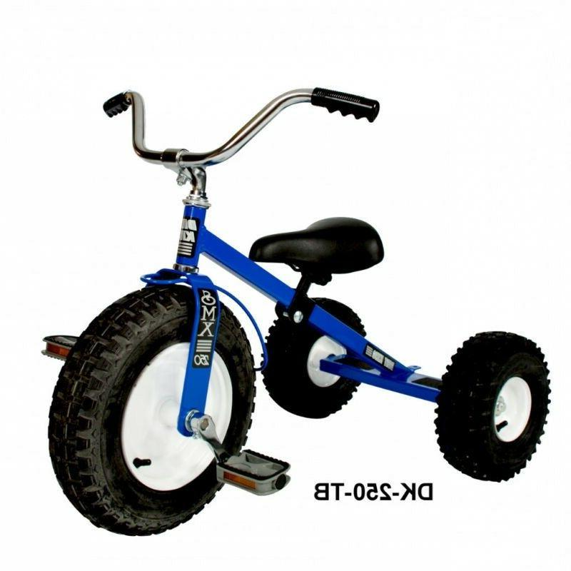 childs tricycle all terrain tires adjustable seat