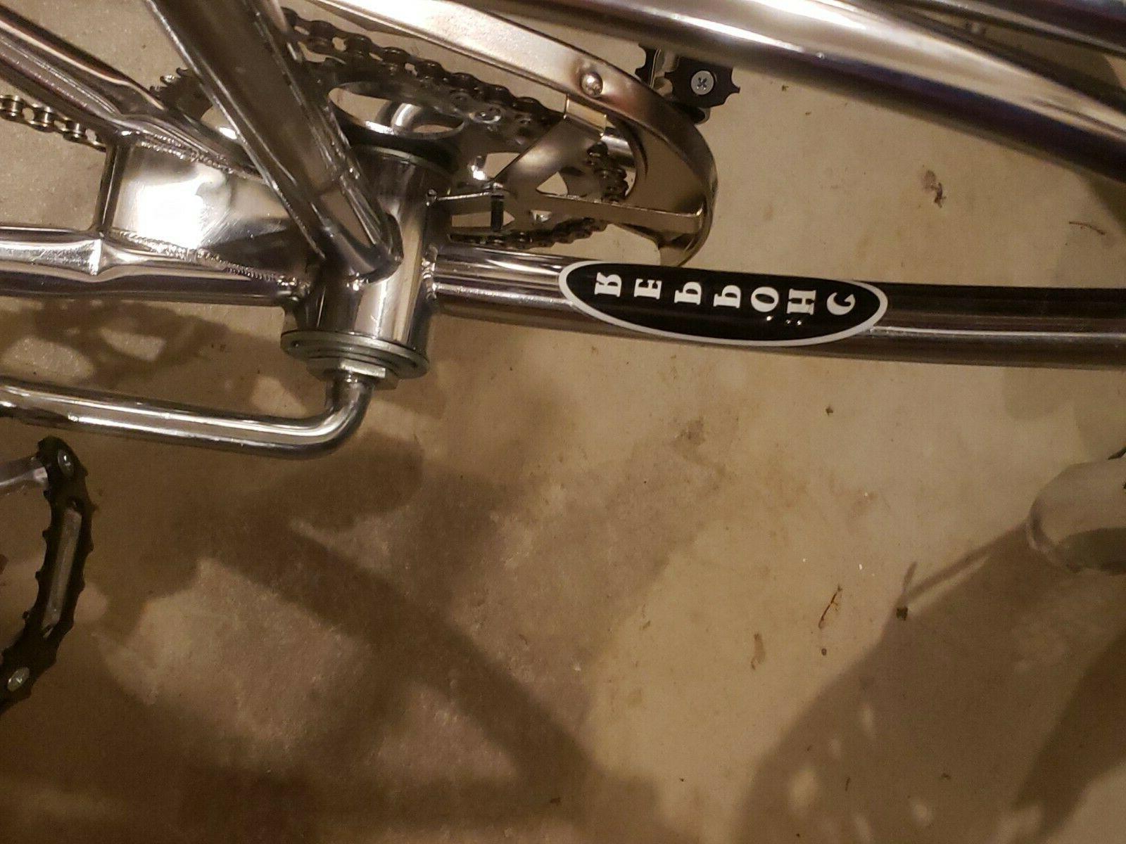 CHROME MOTOR CYCLE BIKE W NEW DIY