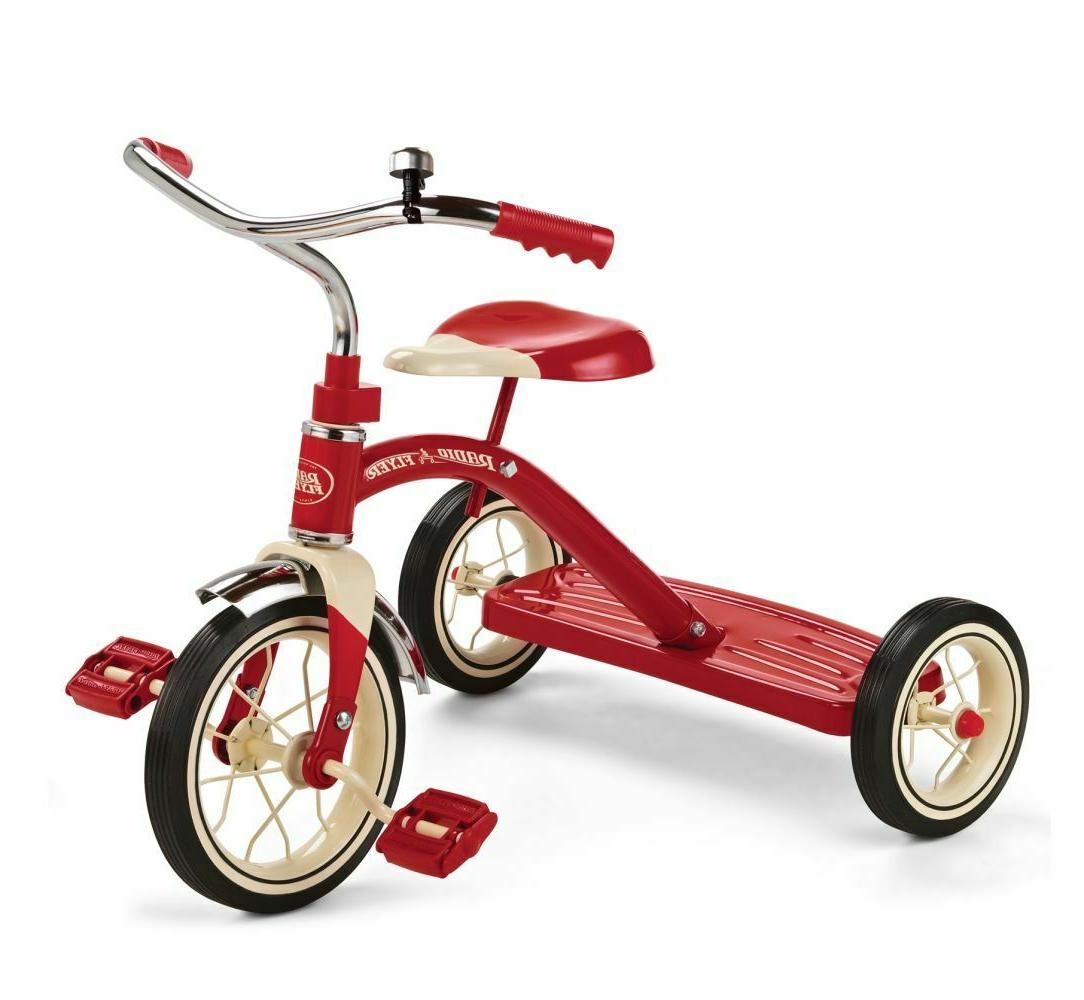 Radio Classic 10 Inch Red Tricycle