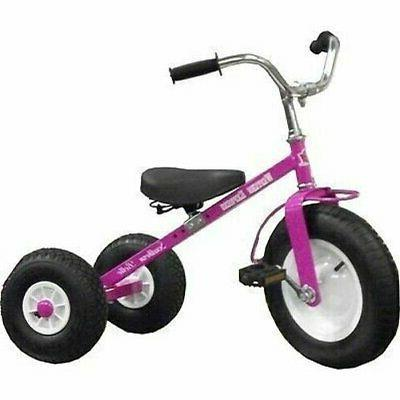 classic all terrain kids tricycle bike pink