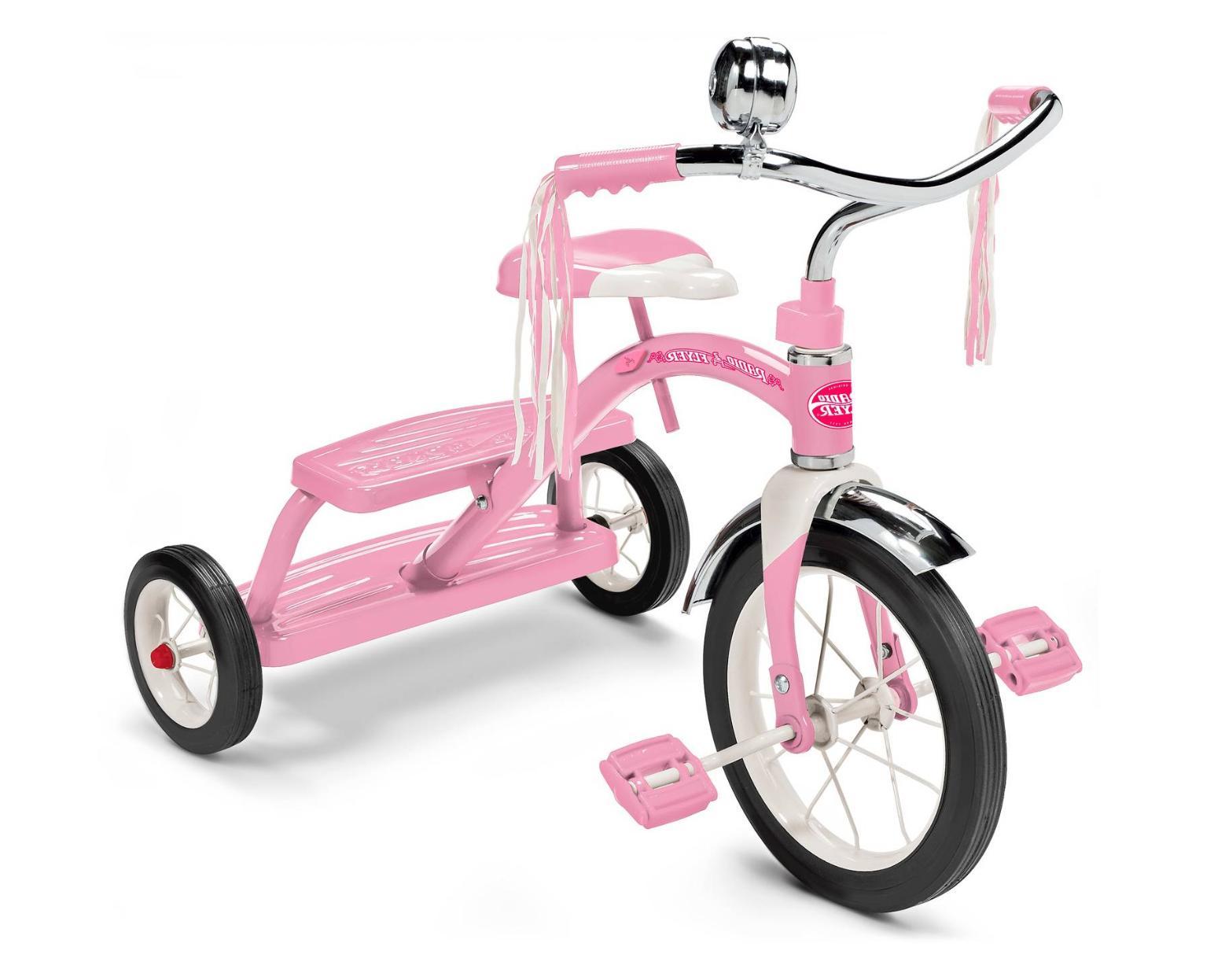 "Radio Flyer Classic 10"" Dual Deck Toddler Children Bike Ride"