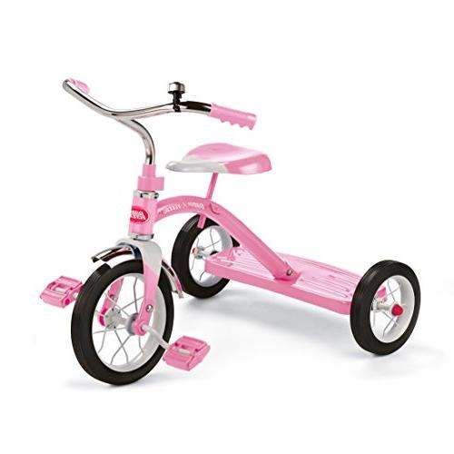 classic pink tricycle ride