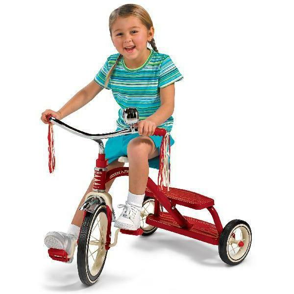 Dual Deck Tricycle, Front