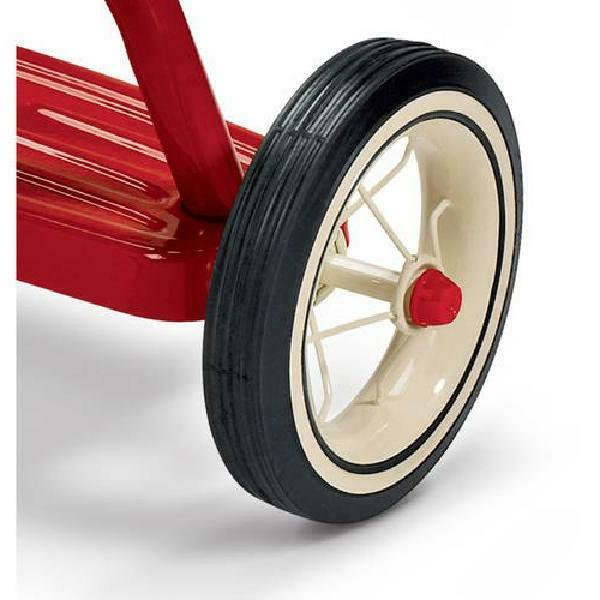 Radio Flyer, Dual Front Wheel, Red