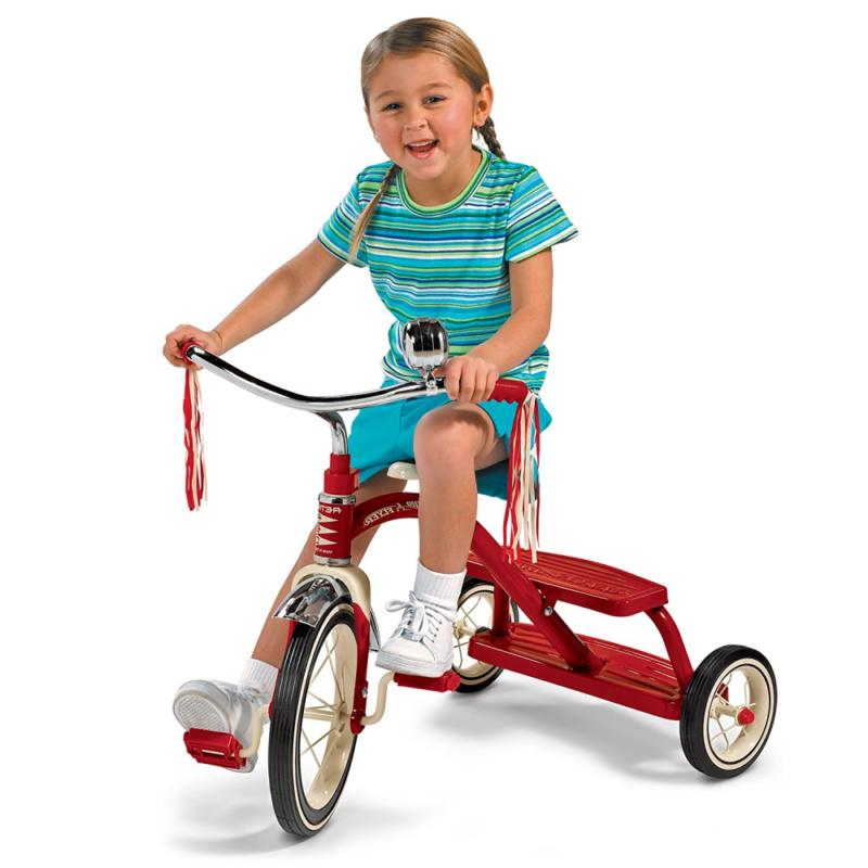 Radio Flyer 12 Classic Red Tricycle Bike Play Ride