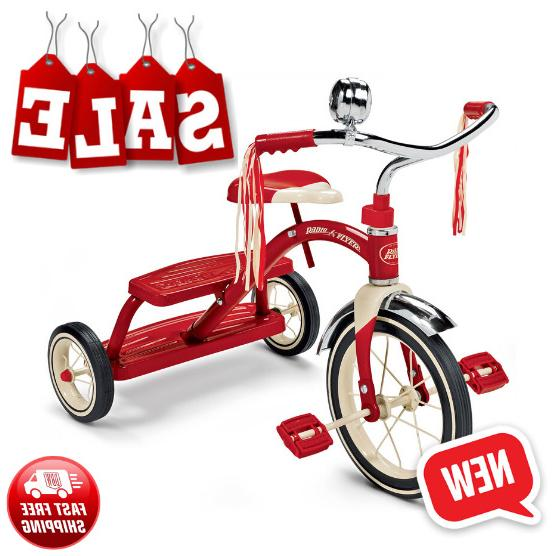 classic red tricycle bike bicycle