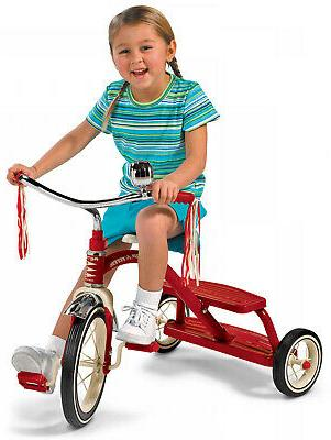 Classic Tricycle Dual-Deck Flyer Safe Training