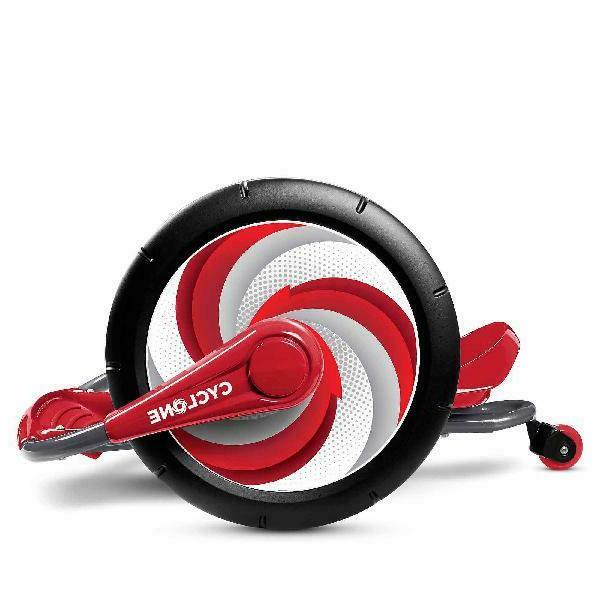 Radio Flyer, Cyclone Ride-on, Arm Powered, Wheels, Red