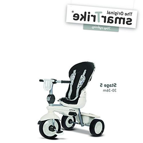 smarTrike Dazzle Trike 14 pounds With Quiet Storage and - and White