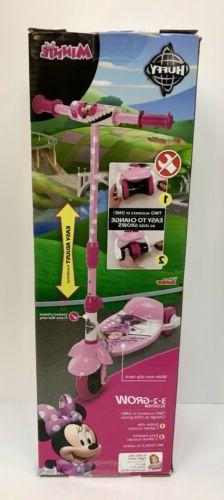 Huffy Disney Minnie 3-2-Grow Scooter - Pink