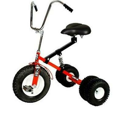 adult dually tricycle red