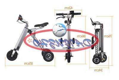 Electric 3-wheels Bike Folding for adults Tricycle