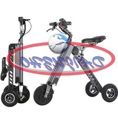 electric 3 wheels bike 250w folding brushless