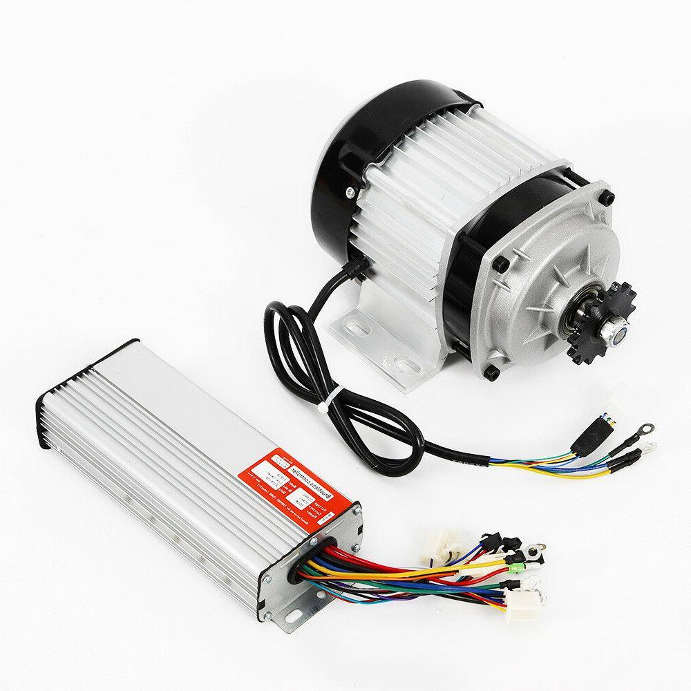 750W E-bike Brushless Motor 48V w/Controller