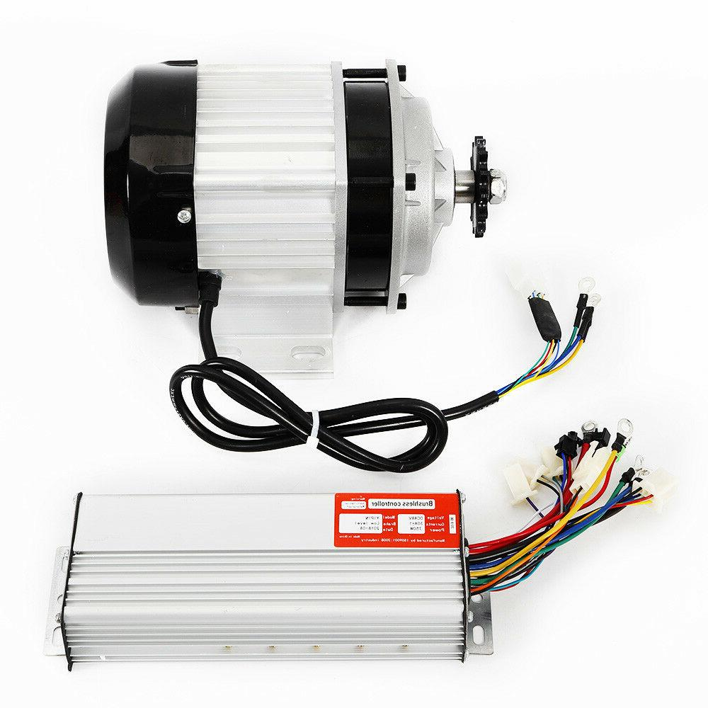 750W Scooter Tricycle E-bike Motor w/Controller